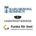 Karlskrona kommun & Landstinget Blekinge samarbetspartners till mötesplats om funktionsnedsättning
