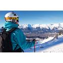 Trendiga Stockholmare åker skidor i Italien. Skåningarna håller sig till Österrike