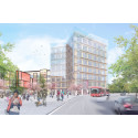 Klart för byggstart: Förnyelsen av Mörby Centrum påbörjas med redan fullsatt kontorshus