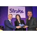 London stroke survivor scoops creative arts award