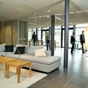Framtidens reception är en lounge
