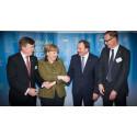 Angela Merkel välkomnar nytt tysk-svenskt innovationssamarbete