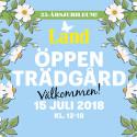 Öppen trädgård med Land firar 25 års-jubiluem!