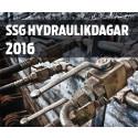 Programmet klart för SSG Hydraulikdagar 2016