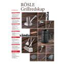Produktblad RÖSLE Grillredskap och Grilltillbehör säsong 2012