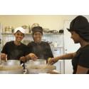 Unik arbetsmarknadsutbildning från Kramfors gästspelar med eritreansk mat på Stair Coffice i Sundsvall.