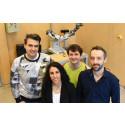 Todor Stoyanov, Amy Loutfi, Robert Krug och Andrey Kiselev ska närma människa till varandra och robot och se om de rent av kan bli vänner.