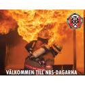 Media inbjuds till brandmännens diskussioner om komprometterad brand och säkerhet på NBS dagarna.