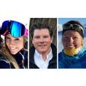 Årets stipendiater i Konung Carl XVI Gustafs 70-årsfond för unga ledare på snö