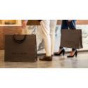 Bärkassar och butiksemballage till Rose & Born