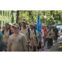 Göteborgare går med i Veteranmarschen