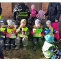 BoKlok Utsikten i Karlskrona fick finbesök från förskola