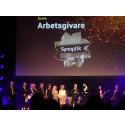 Synoptik utsedda till Årets Arbetsgivare under Retail Awards 2018.