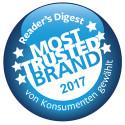 """Reader's Digest-Studie """"Trusted Brands 2017"""": Jeder zweite Deutsche ist seiner Marke treu"""