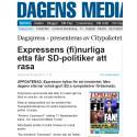 Artikel om Expressens (fi)nurliga etta - mest läst på alla Talentums sajter