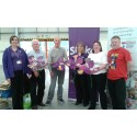 Halton stroke survivors get creative for Make May Purple