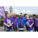 Survivors take a Step Out for Stroke in Plymouth