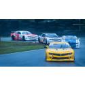 Stenhårda fajter och starka känslor när V8 Thunder Cars kör Brith Memorial
