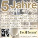 5 Jahre Pax et Bonum-Verlag