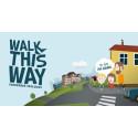 Walk this way - ska få fler föräldrar att välja bort bilen!