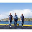 Statskog samarbeider med Arctic Race of Norway (ARN) - et stadig voksende sykkelritt som virkelig selger norsk natur. Fra venstre ARN-ambassadør Thor Hushovd, kommunikasjonssjef i Statskog Trond Gunnar Skillingstad og ARN-sjef Knut-Eirik Dybdal