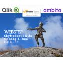 Amazon, Ambita, Qlik og Webstep inviterer til frokostseminar om verdiskaping i skyen