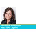 Ditt varumärke som säljverktyg - frukostseminarium med Anna-Karin Lingham