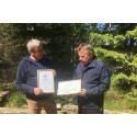 Ljusdal Energi får miljödiplom av Älvräddarna
