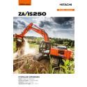 Broschyr Hitachi ZX250LC-6 bandgrävare