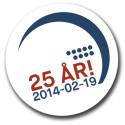 Ericsson Globe firar 25 år den 19 februari - bjuder in 25-års jubilarer till att visas på världens största sfäriska bildskärm