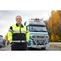 Cato Mathisen, sjåfør hos Åge Widme Transport