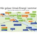 Fortsatt hög investeringstakt i infrastruktur i Umeå