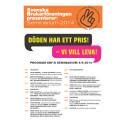 Program för SeminariumBySBF 2014 - 4 juni 2014, Landstingshuset i Stockholm