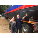 Hi-res image - Fischer Panda UK - Sacred barge owners Dale and Alison Canfield are recommending electric propulsion to other boaters after using the latest technology supplied by Fischer Panda UK