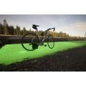 Nordic Surface tilldelas offentligt stöd för självlysande och stötdämpande cykelbana