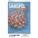 Affisch Samspel konsert lördagen den 14 maj 2016