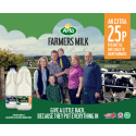 Arla Foods launches milk where additional 25p of retail price is paid to its cooperative dairy farmers