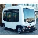 Pilotprosjekt med selvkjørende minibuss i flere byer neste år