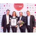 Star Tour vinner prisen for Årets kundeservice 2015 innen reise