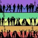 Fira bröllop i Bildstenshallen under Gotland Pride!