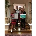 Scandic Hotels Deutschland gewinnen Hospitality HR Award 2018 in der Kategorie HR-Strategie Hotelketten und  -kooperationen