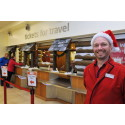Rugby station ticket office given a Festive makeover / Christmas travel advice