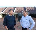 Ny skoleleder Erik Mønster og direktør Karsten Poulsen