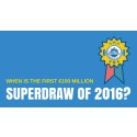 First Euromillions Superdraw of 2016 - 20 FREE tickets!