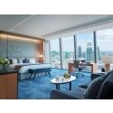 360° utsikt från Shangri La Hotel At The Shard i London