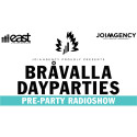 JoiaAgency och East FM sänder Bråvalla Dayparties Pre-Party!