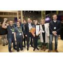Hunton vant årets beste stand på Bygg Reis Deg