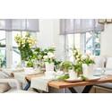 Die perfekte Tafel - Individuelle Tischdekorationen mit LECHUZA-Pflanzgefäßen