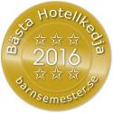 Scandic bästa hotellkedja i Barnsemesterpriset - Tar pris för femte året i rad