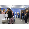 Tork PeakServe® in washroom environment